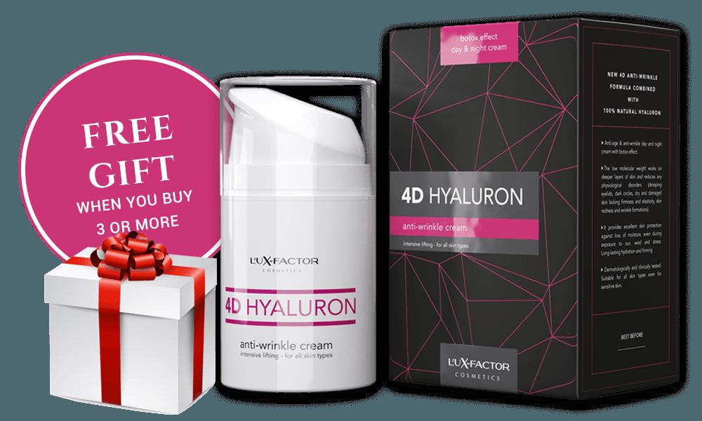 Triple packaging Lux-Factor 4D HYALURON