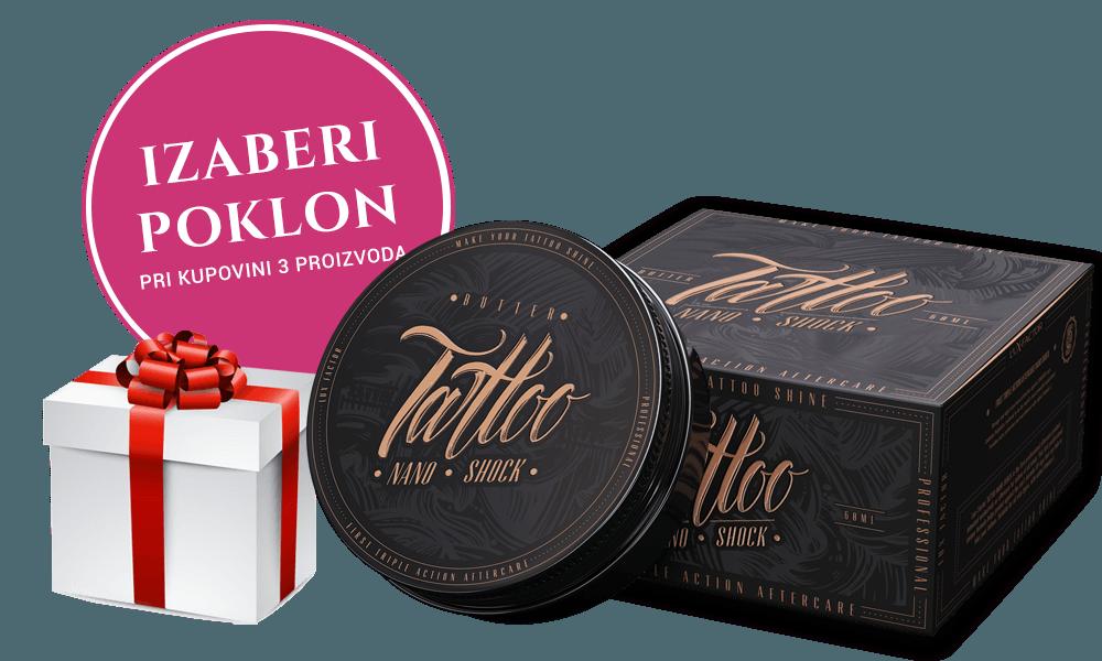 Trojno pakiranje Lux-Factor TATTOO NANO SHOCK