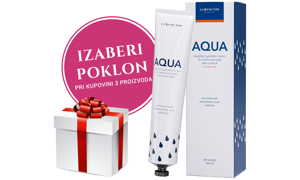 Trojno pakiranje Lux-Factor AQUA