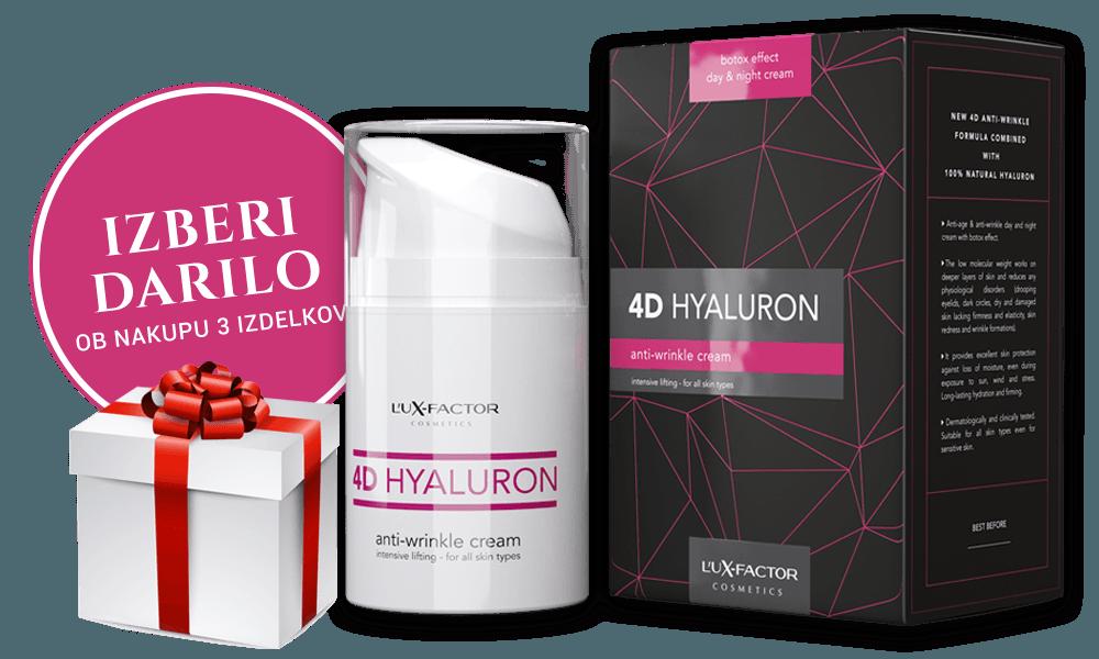 Trojno pakiranje Lux-Factor 4D HYALURON